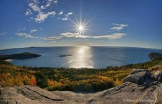 Acadia Maine - the view from Cadillac Mtn. - fabulous!
