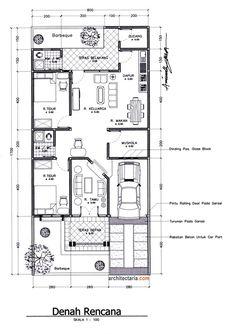 Minimal House Design, Minimal Home, Home Design Floor Plans, Plan Design, New House Plans, Modern House Plans, Beautiful House Plans, Small Pools, House Blueprints