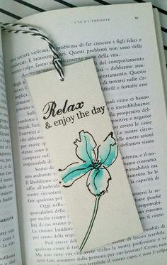 Bookmarks handmade diy Handmade Bookmark Watercolor Bookmark Laminated by DiyCraftyScraps Creative Bookmarks, Cute Bookmarks, Paper Bookmarks, Bookmark Craft, Watercolor Bookmarks, Watercolor And Ink, Handmade Bookmarks, Corner Bookmarks, Crochet Bookmarks