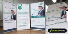 Soporte para Banner Roll Screen o Roll up Banner