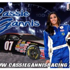Cassie races in the NASCAR K Pro Series West.