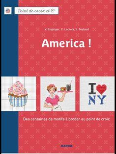 View album on Yandex. Cross Stitch Magazines, Cross Stitch Books, Folklore Russe, Cross Stitching, America, Album, Embroidery, Crochet, Mango