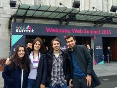 Representing Radiuscheck at Web Summit - 3rd of November 2015