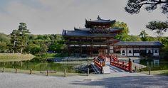 Byodo-in temple in Uji, Kyoto, a world heritage site....