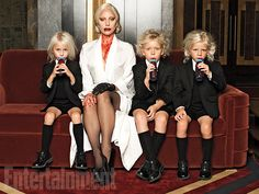 "The Countess has kidnapped/adopted a brood of bloodsucking children. ""They are the most important thing to her,"" says Gaga. ""More than anything, I think she wants to identify in a very human way."" #AHSHotel Image Credit: Michael Avedon for EW."