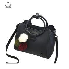 LINGLANGYA 2017 famous brand m-zone handbags bags hang bag women fashion leisure shoulder strap Solid color zipper bag cz38