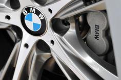BMW brakes caliper and wheel