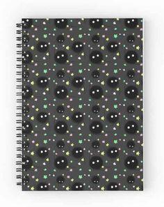 Este cuaderno de susuwatari ($12).
