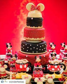 """95 Likes, 4 Comments - Inspirações para festas 🎂🎈🎉 (@carolfesteira) on Instagram: """"É de babar! #Repost @wonderfestas with @repostapp ・・・ Bom diaaaa com nosso lindo bolo que vai…"""""""