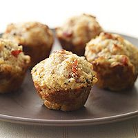 Parmesan and Proscuitto Mini Muffins
