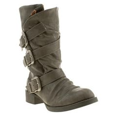 Women's Grey Blowfish Kasbah Hi Leg Boots | schuh