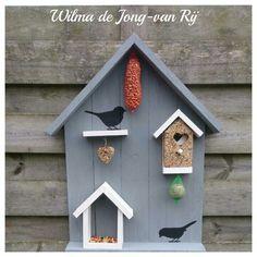 Vogelhuisje voederhuisje vogelvoer vogels