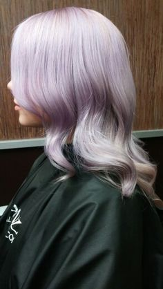 Thinking about lavender hair...