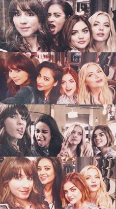 Pretty Little Liars Hanna Marin, Spencer Hastings, Emily Fields, Orphan Black, Grey's Anatomy, Prety Little Liars, Pll Cast, How Lucky Am I, Supernatural