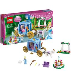 """레고 디즈니 41053 공주 Lego Disney Princess """"Cinderella 's Dream Carriage"""" - Lego Disney Princess, Lego Princesse Disney, Building Sets For Kids, Building Toys, Construction Toys For Boys, Reborn Baby Boy, Buy Lego, Lego Lego, Game Prices"""