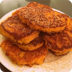 Pumpkin Fritters For Fall and Football Vegan Pumpkin, Pumpkin Recipes, Banting Recipes, Paleo Recipes, Savoury Recipes, Pumpkin Fritters, Sweet Potato Fritters, Low Fat Low Carb, Wheat Free Recipes