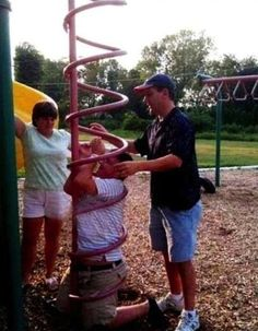 This playground disaster. | 42 Ideas That Completely Backfired