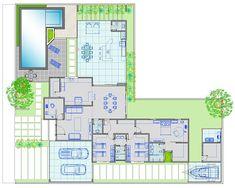 Arquiteto Natan Fontes: casa térrea - RUBENS-LEILA