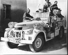 LRDG 30cwt Chevrolet,  note the sand ladders on the front wings