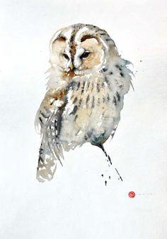 Tawny Owl by Karl Mårtens