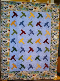 airplane quilt                                                                                                                                                                                 More