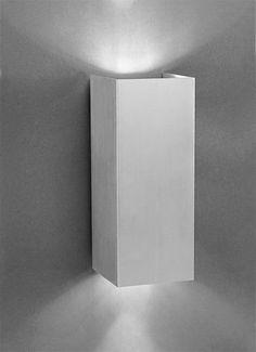 Aplique serie COMFORT aluminio 2 luces - luciluz.es
