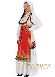 Desfina Folk Costume, Costumes, Folk Dance, Greek Clothing, Gold Embroidery, Ancient Greece, Hair Jewelry, Traditional, Greek Apparel