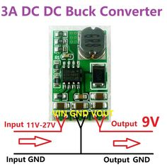 3A 12-24V to 9V Voltage Regulator DC-DC Converter Step-Down Buck Module replace LM7809 L7809 Wifi router Set top box multimeter //Price: $4.19//     #shopping