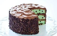 Για τους λάτρεις της σοκολάτας, κέικ σοκολάτας με μέντα | Treloi.eu | Τα…