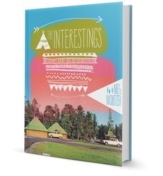 The Interestings Book Jacket // Cheeky Design