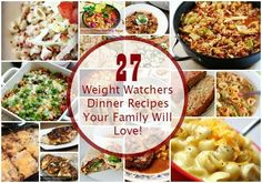 Shed excess pounds with healthy eating. Check out these 27 Free Weight Watcher's Recipes with Points Plus for Dinner that you can add to your daily menu.