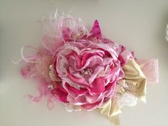 Glitz and Glamour headband by CozetteCouture on Etsy, $32.99