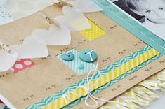 Creating patterned paper windows - scrapbooking tutorial by Jennifer Gallacher @ shimelle.com