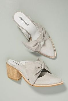 3ff56725d0e Shop the Jeffrey Campbell Cyrus Bow Mules and more Anthropologie at Anthropologie  today. Read customer