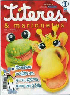 Como hacer titeres - Revistas de manualidades Gratis