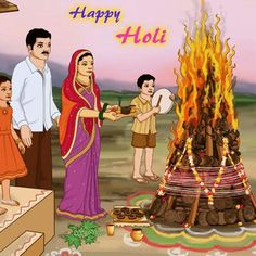 72a19e726b My favourite festivals · Holi pooja..... Holi Thoughts, Thoughts In Hindi,  Holi Wishes