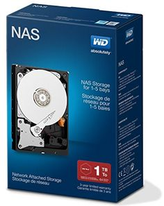 buy now   £56.43   Western Digital WD NAS WDBMMA0010HNC Hard drive 1 TB internal 35 SATA 6Gbs 5400 rpm buffer 64 MB WDBMMA0010HNCERSN Components Internal Hard DrivesFeatures:IntelliPower, NAS compatible, NASware technology,  ...Read More