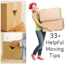 33 Helpful Moving Tips Everybody Should Know | DIY Tag