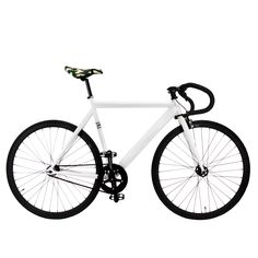 $5 OFF YOUR ORDER WITH COUPON CODE (PINTEREST) AT CHECKOUT! Zycle Fix Prime ( White Camo ) Series Fixed Gear Single Speed Fixie Bike