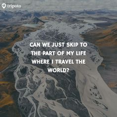 This Pin was discovered by Yamini. New Adventure Quotes, Best Travel Quotes, Adventure Travel, Some Good Quotes, Wanderlust Quotes, Vacation Quotes, Travel Words, Life Happens, Book Memes