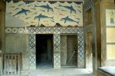Mégaron de la Reina,Palacio de Cnosos,Creta.Arte Minoico