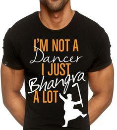 Bhangra Tshirt Design
