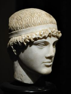 Head of an athlete. Roman copy of the century CE after a Greek original of 460 BCE. Vienna, Museum of Art History. Photo by Ilya Shurygin. Ancient Greek Art, Ancient Rome, Ancient Greece, History Museum, Art History, Art Museum, Classical Greece, Classical Art, Roman Sculpture