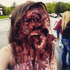 Special Effects makeup by @gregoryfx