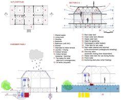 wohnbauprojekt vietnam grundriss architektur niedrige kosten