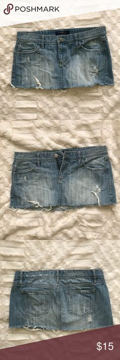 e52679f73e0ee Description  Forever 21 mini denim skirt in great condition Measurements  laying flat Waist Length Sold by Fast delivery