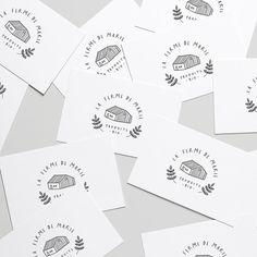 Be Wild Studio☽ Nicole & Co sur Instagram: Créez la marque de vos rêves... // Business cards pour La Ferme de Marie ♡ ____ #branding #logo #graphicdesign #bewilddesignstudio… Studio Design, Buisness, Graphic, Logos, Branding, Cards, Instagram, Logo, Maps