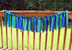 Ribbon Garland Banner Cookie Monster by JessicaAnnBoutique on Etsy