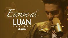 """Luan Santana - Escreve aí - (Vídeo Oficial) - """"DVD Luan Santana Acústico""""  https://www.youtube.com/watch?v=ysZP--fcgnc"""