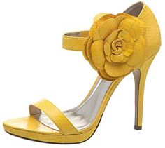 49 Yellow Shoes For School - New Shoes Styles & Design Yellow Sandals, Yellow Heels, Jimmy Choo, Shoes For School, Christian Louboutin, Jaune Orange, Prada, Gucci, Yellow Fashion